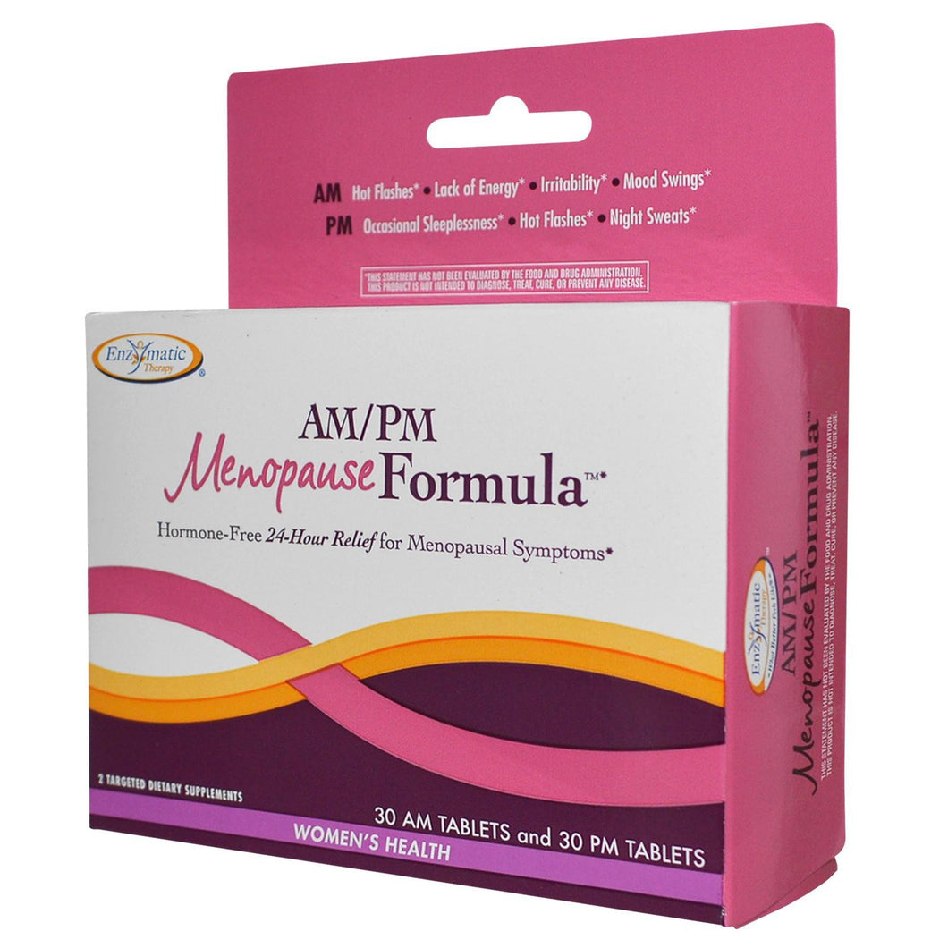 Enzymatic Therapy AM/PM Menopause Formula Women's Formula 60 Tablets