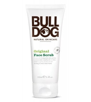 Bull Dog, Natural Skin Care, Face Scrub, 100 ml ... VOLUME DISCOUNT