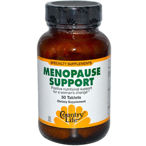 Country Life Menopause Support 50 Tablets - Dietary Supplement