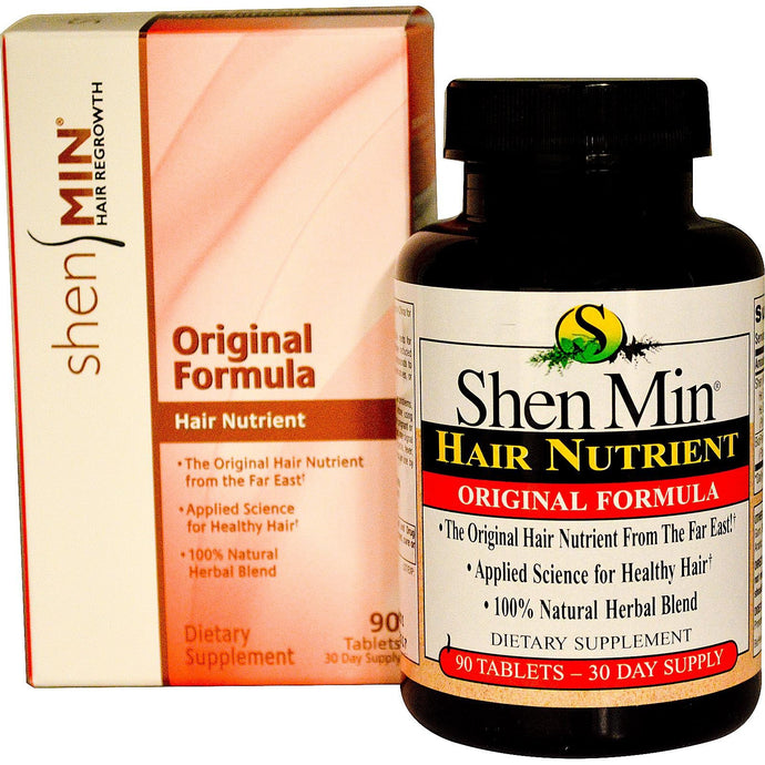 Natrol Shen Min Hair Nutrient Original Formula 90 Tablets