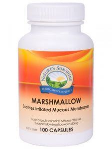 Nature's Sunshine, Marshmallow, 450 mg, 100 Capsules