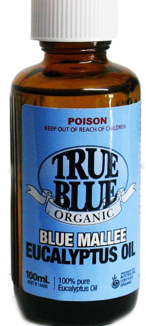 True Blue Organic Eucalyptus Oil 100 ml