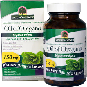 Nature's Answer, Oil of Oregano, Origanum Vulgare, 150 mg, 90 Softgels