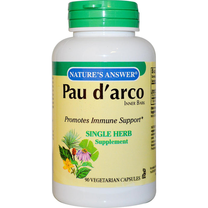 Nature's Answer, Pau D'Arco, 1000 mg, 90 Veggie Caps