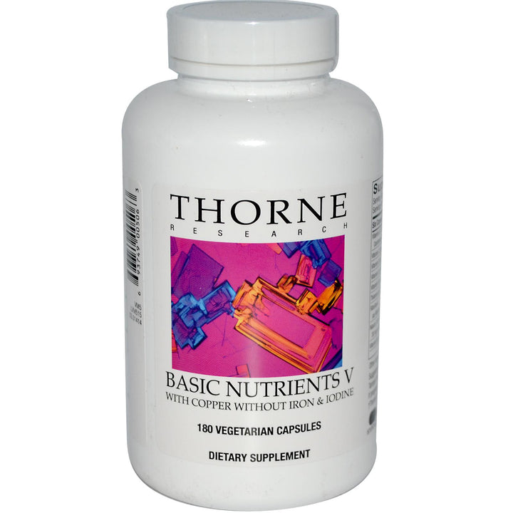 Thorne Research Basic Nutrients V 180 Veggie Capsules