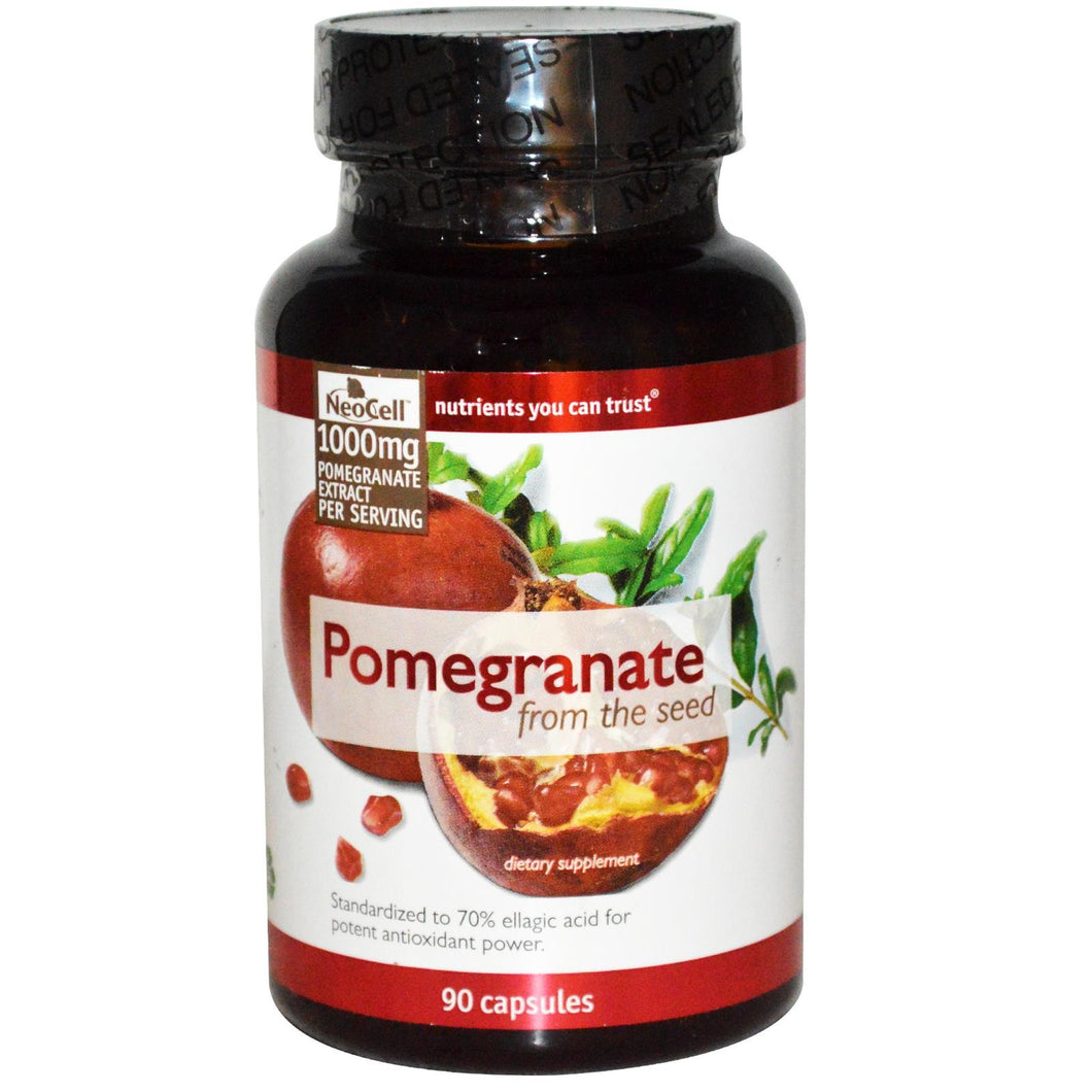 Neocell Pomegranate 1000mg 90 Capsules - Dietary Supplement
