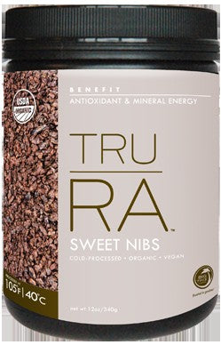 Big Tree Farms, Organic, Sweet Cacao Nibs, Tru RA, 340 g, 12 oz
