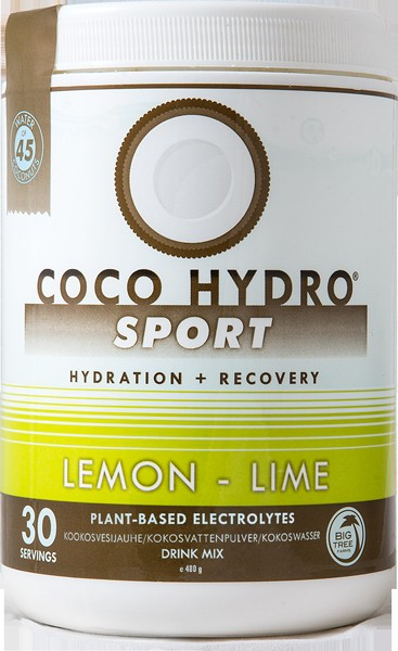 Big Tree Farms, Coco Hydro Sport, Lemon Lime, 30 Servings, 480 g