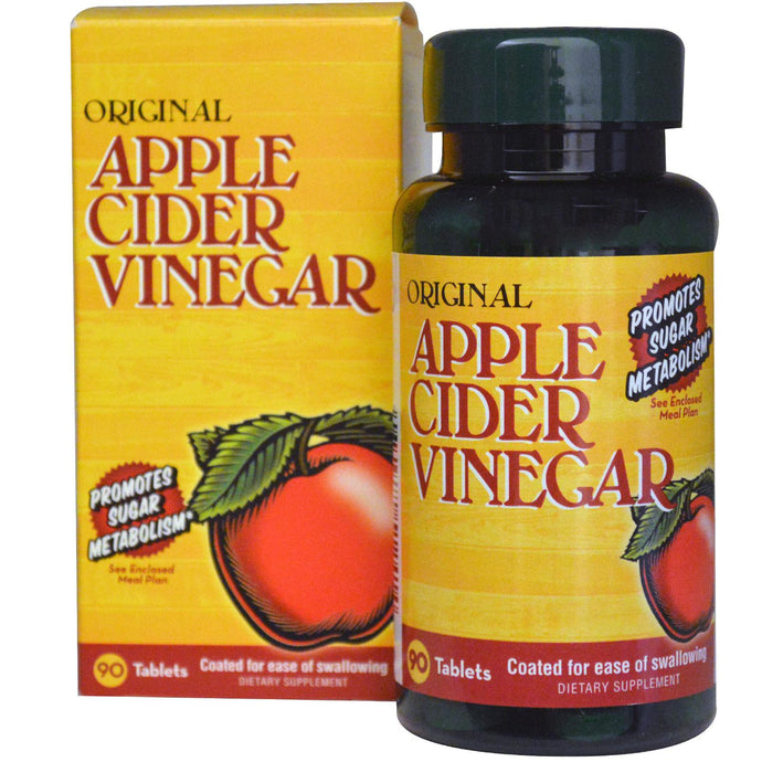 Nature's Bounty, Original Apple Cider Vinegar, 90 Tablets