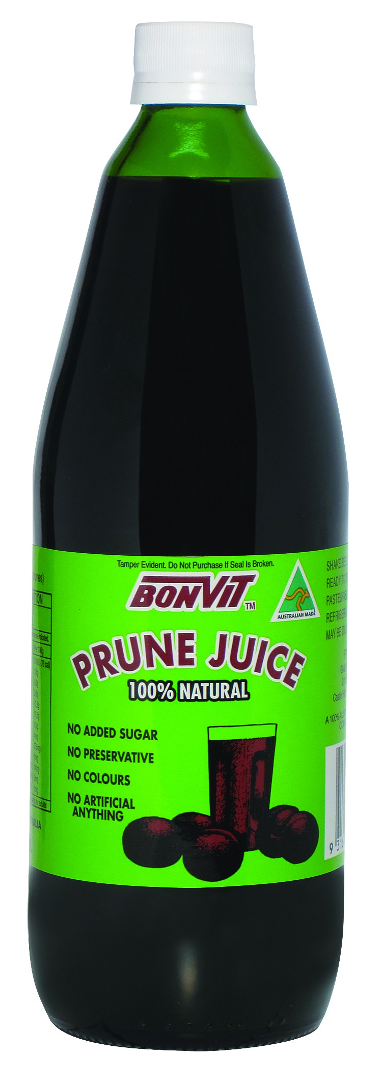 Bonvit, Prune Juice, 100 % Natural, 750 ml