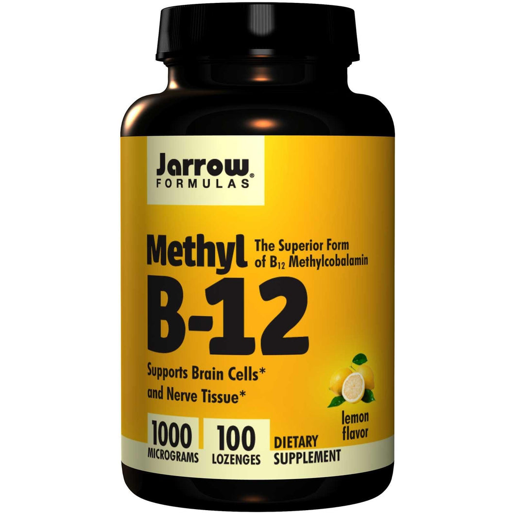 Jarrow Formulas Methyl B-12 1000mcg 100 Lozenges - Dietary Supplement