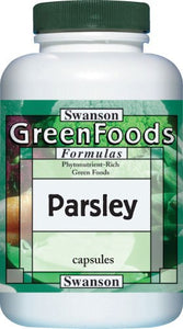 Swanson GreenFoods Formulas Parsley 650mg 90 Capsules