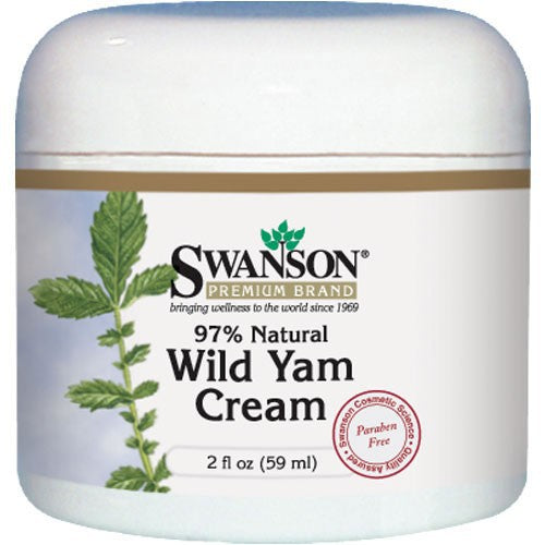 Swanson Premium Wild Yam Cream 97% Natural 59ml 2 fl oz