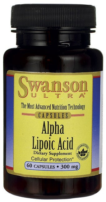 Swanson Ultra Alpha Lipoic Acid 300mg 60 Capsules - Dietary Supplement