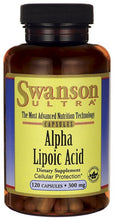 Load image into Gallery viewer, Swanson Ultra Alpha Lipoic Acid 300mg 120 Capsules