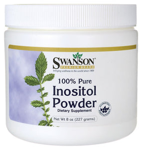 Swanson Premium 100% Pure Inositol Powder 227gm - Dietary Supplement