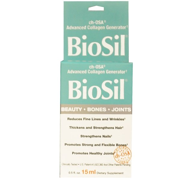 BioSil by Natural Factors, ch-OSA Advanced Collagen Generator, 0.5 fl oz (15 ml)