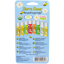Load image into Gallery viewer, Sierra Bees, Organic Lip Balms Combo Pack, 8 Pack, .15 oz (4.25 g) Each