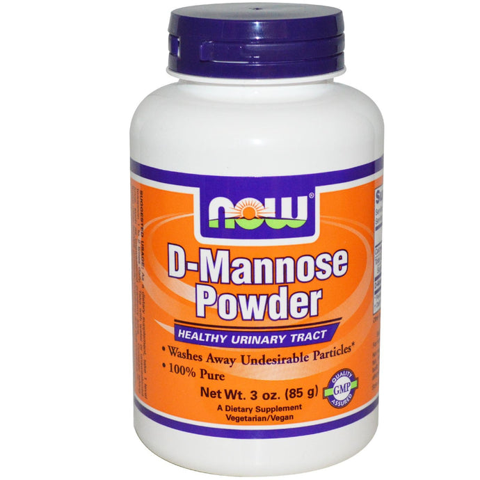 Now Foods D-Mannose Powder 85 grams - Dietary Supplement