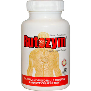 Naturally Vitamins, Rutozym, Systemic Enzymes Formula, 120 Tablets