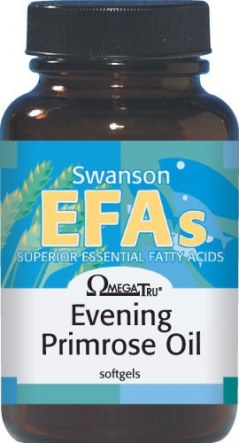 Swanson EFAs Evening Primrose Oil (OmegaTru) 500mg 250 Softgels