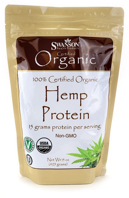 Swanson Certified Organic Hemp Protein 425gm - Health Supplement