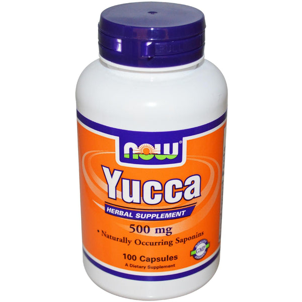 Now Foods, Yucca, 500mg, 100 Capsules