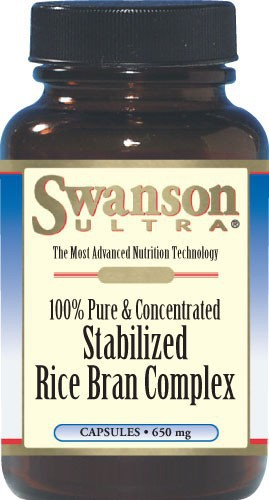 Swanson Ultra 100% Stabilized Rice Bran Complex 120 Caps