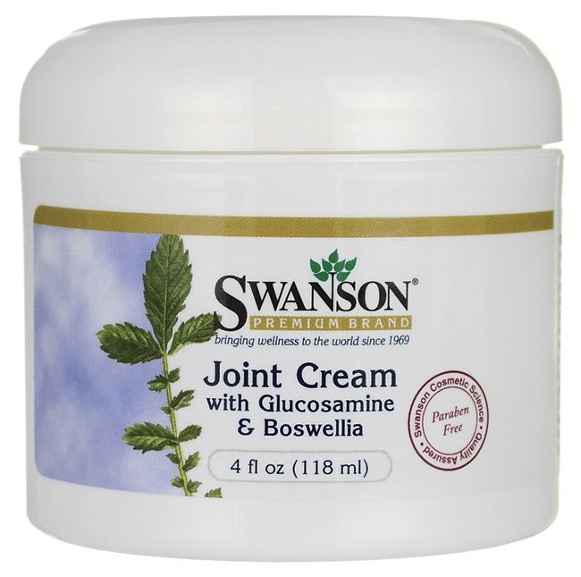Swanson Premium Joint Cream with Glucosamine & Boswellia 118ml 4 fl oz