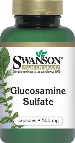 Swanson Glucosamine Sulfate 500 Mg 250 Capsules - Health Supplement