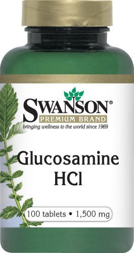 Swanson Glucosamine HCl 1500Mg 100 Tablets - Dieatry Supplement