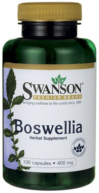 Swanson Premium Boswellia 400mg 100 Capsules - Supplement