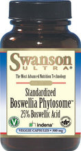 Load image into Gallery viewer, Swanson Ultra Boswellia Phytosome 300mg 60 Veggie Capsules