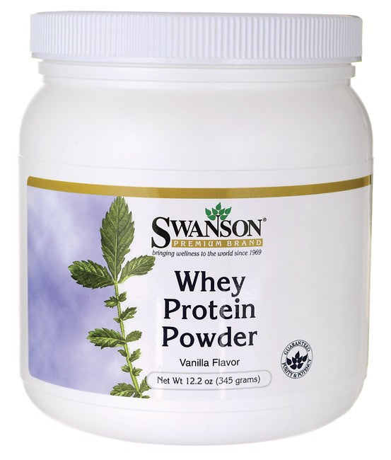 Swanson Whey Protein 12.2Oz (345 Grams) - Protein Supplement