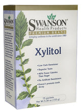 Load image into Gallery viewer, Swanson Premium Xylitol 75 Packets