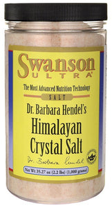 Swanson Ultra Himalayan Crystal Salt 1kg - Natural Supplement