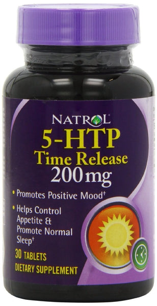 Natrol 5-HTP TR Time Release 200mg 30 Tablets - Dietary Supplement