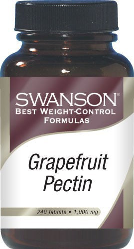 Swanson Best Weight-Control Formulas Diet Grapefruit Pectin 1000mg 240 Tablets
