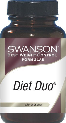 Swanson Best Weight-Control Formulas Diet Duo with White Kidney Bean 120 Capsules