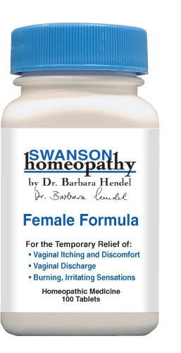 Swanson Homeopathy Female Formula 100 Tablets