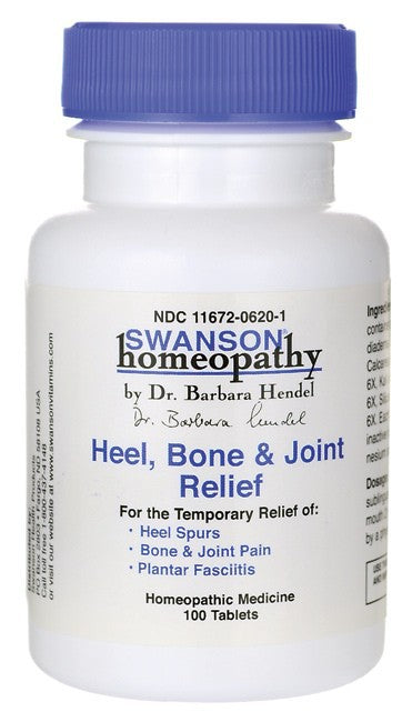 Swanson Homeopathy Heel, Bone & Joint Relief 100 Tablets