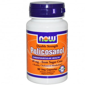 Now Foods Policosanol Double Strength 90 VCaps  - Dietary Supplement