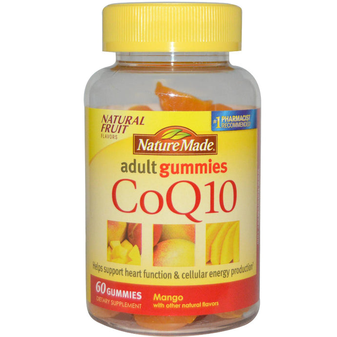 Nature Made, CoQ10, Adult Gummies, Mango, 60 Gummies