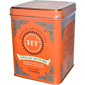 Harney & Sons, African Autumn, 20 Tea Sachets, 1.4 oz, 40 g
