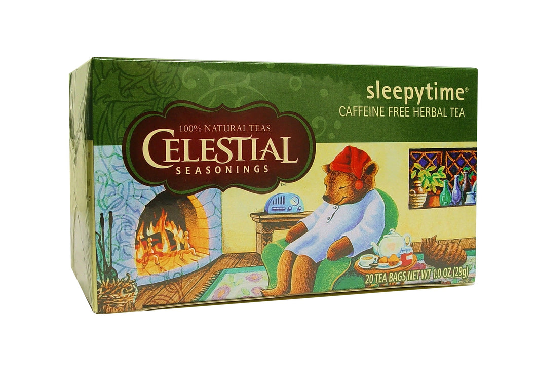 Celestial Seasonings, Tea, Sleepytime, Caffeine Free, 20 Tea Bags, 29 g