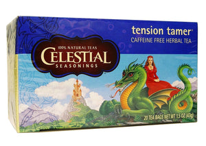 Celestial Seasonings Tea Tension Tamer Caffeine Free 20 Tea Bags