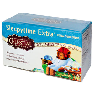 Celestial Seasonings Wellness Tea Sleepytime Extra Caffeine Free 20 Tea Bags 35g