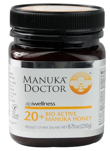 Manuka Doctor Apiwellness 20 +  Bio Active Manuka Honey 8.75 oz 250 g