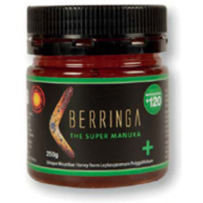 Berringa, The Super Manuka, MGO 120 +, 250 g