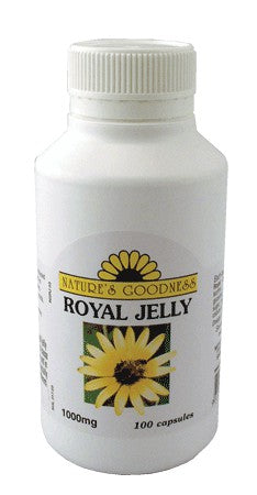 Nature's Goodness, Royal Jelly, 1000 mg, 100 Capsules